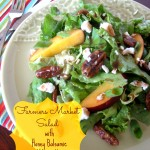 Farmers Market Salad with Honey Balsamic Vinagrette