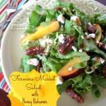 Farmers Market Salad with Honey Balsamic Vinagrette