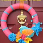 Summer Birdie Wreath