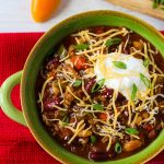 Loaded Crock Pot Chili