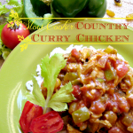 Slow Cooker September: Slow Cooker Country Curry Chicken