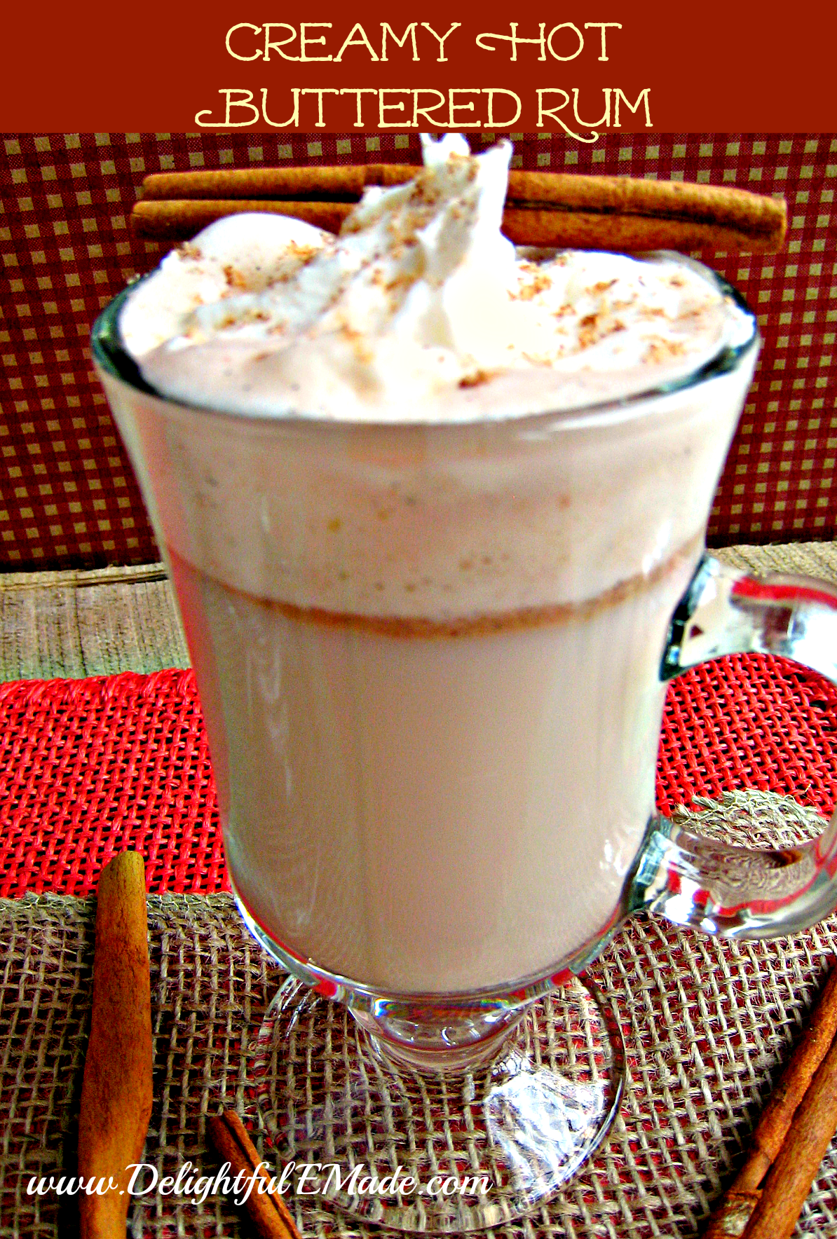 ... Halloween Readiness - Creamy Hot Buttered Rum! - Delightful E Made
