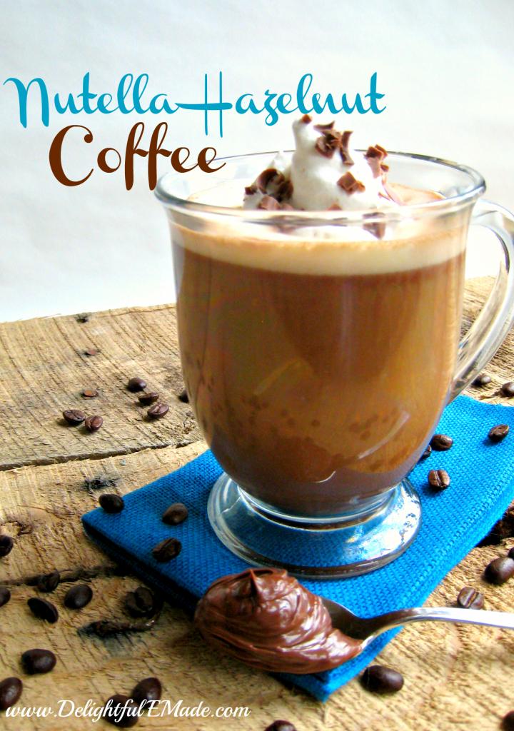 Nutella Hazelnut Coffee by Delightful E Made