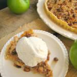 Dutch Apple Tart with Pecan Crumble