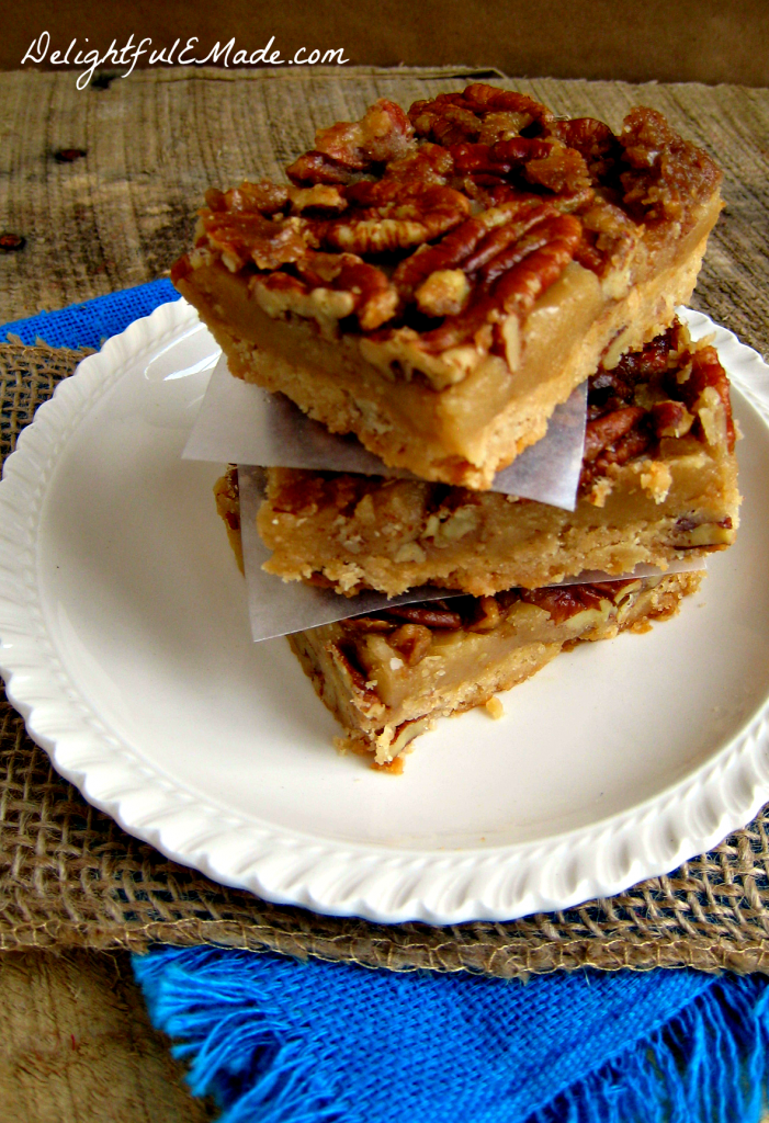 Pecan Praline Bars by Delightful E Made