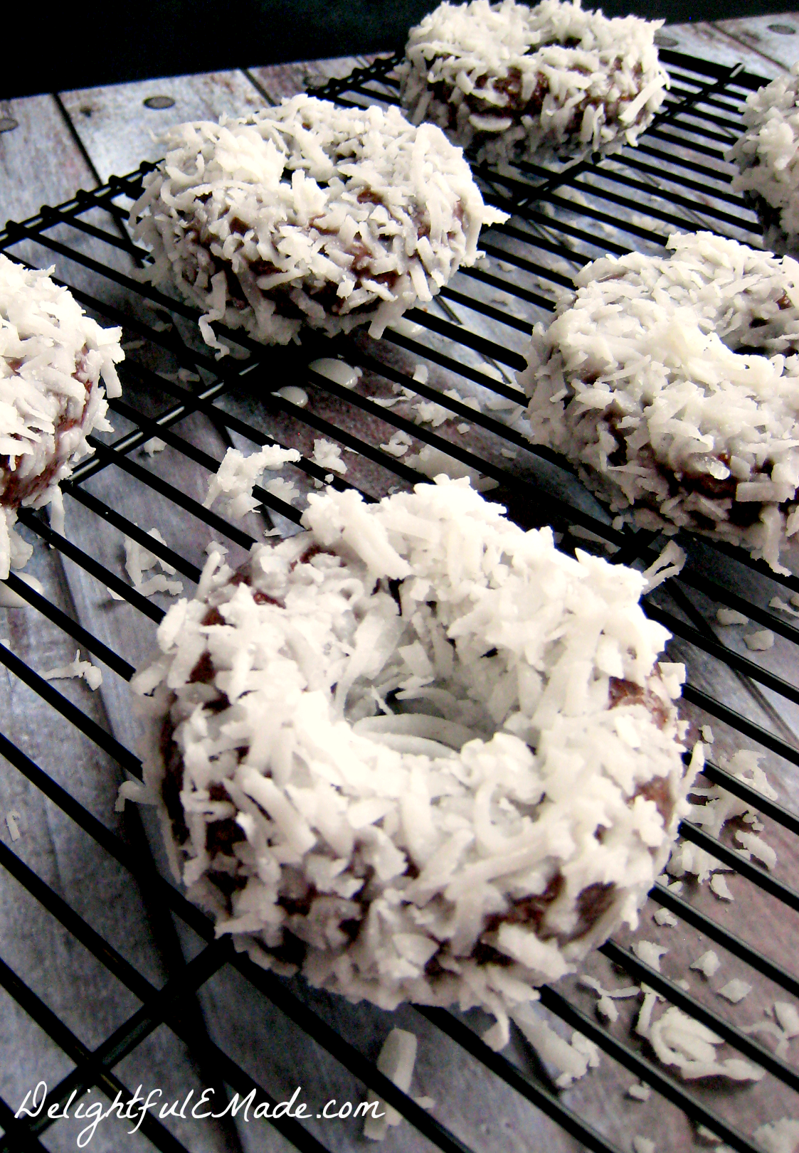 Baked Donuts With Chocolate Glaze And A Visit From The Fairy Hobmother ...