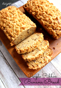 Award winning Banana Bread recipe! The best (and only!) recipe for banana bread you'll ever need. Moist, flavorful and super delicious!