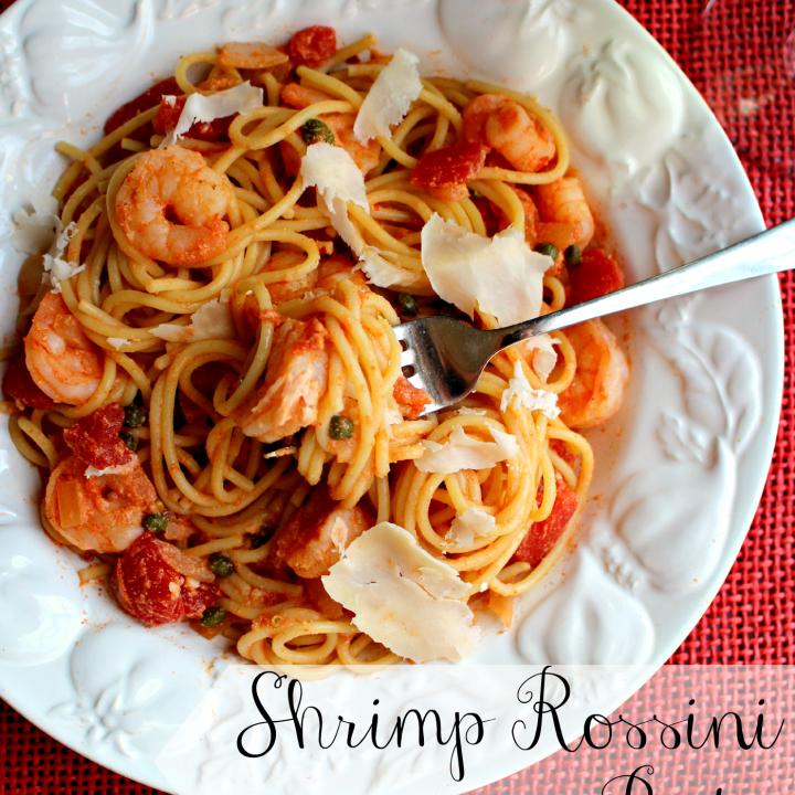 Shrimp Rossini Pasta