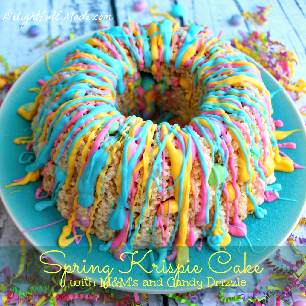 Rice Krispie Treats just got even more amazing! Made with a simple bundt pan, and a few other goodies, these will be a new spring family favorite!