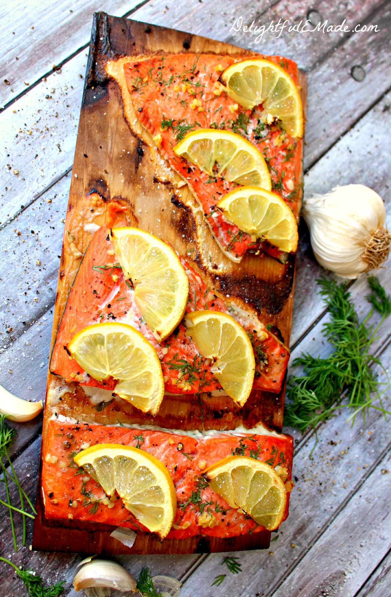 one of the most flavorful ways to grill!! Grilled Cedar Plank Salmon ...