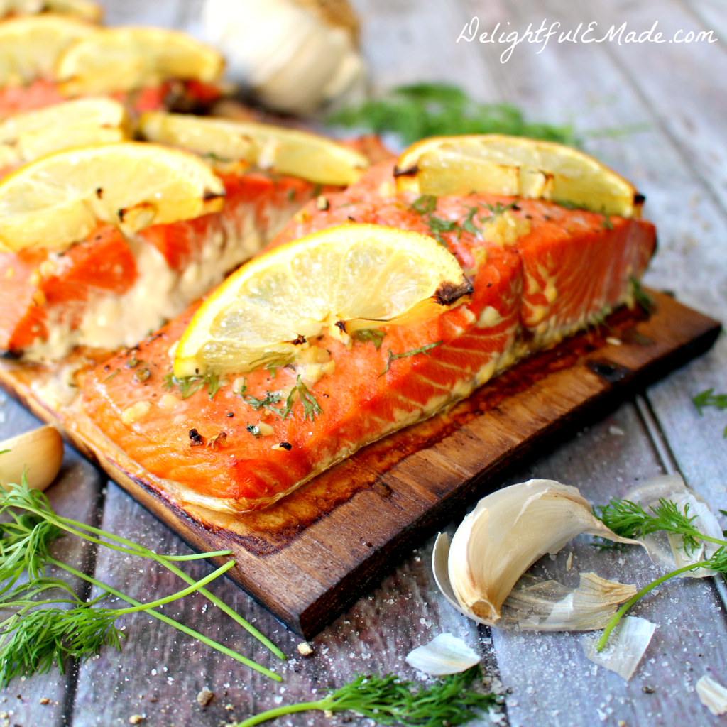 of the most flavorful ways to grill!! My Grilled Cedar Plank Salmon ...