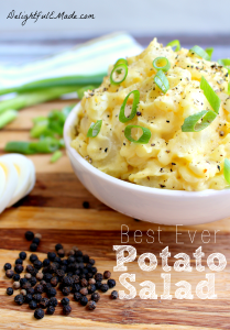 Best Ever Potato Salad by Delightful E Made
