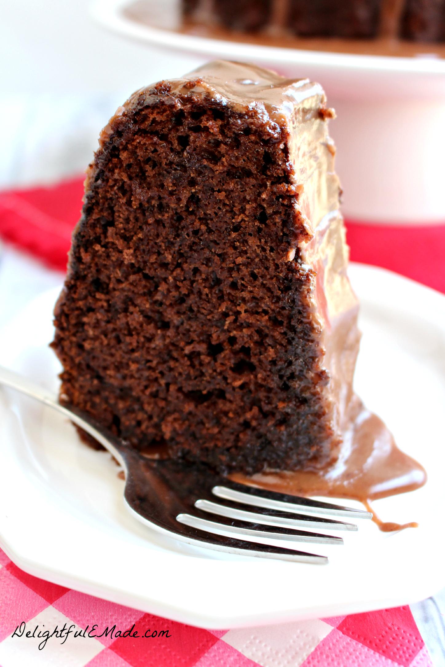 Coca Cola Bundt Cake Recipe