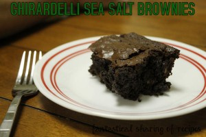 Ghiradelli Sea Salt Brownies