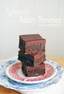 Refrigerator Bakery Brownies