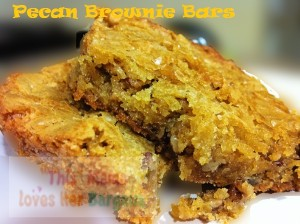 Pecan Brownie Bars