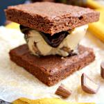 Peanut Butter Fudge Ice Cream Sandwiches