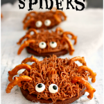 Chocolate Sugar Cookie Spiders #OxoGoodCookies