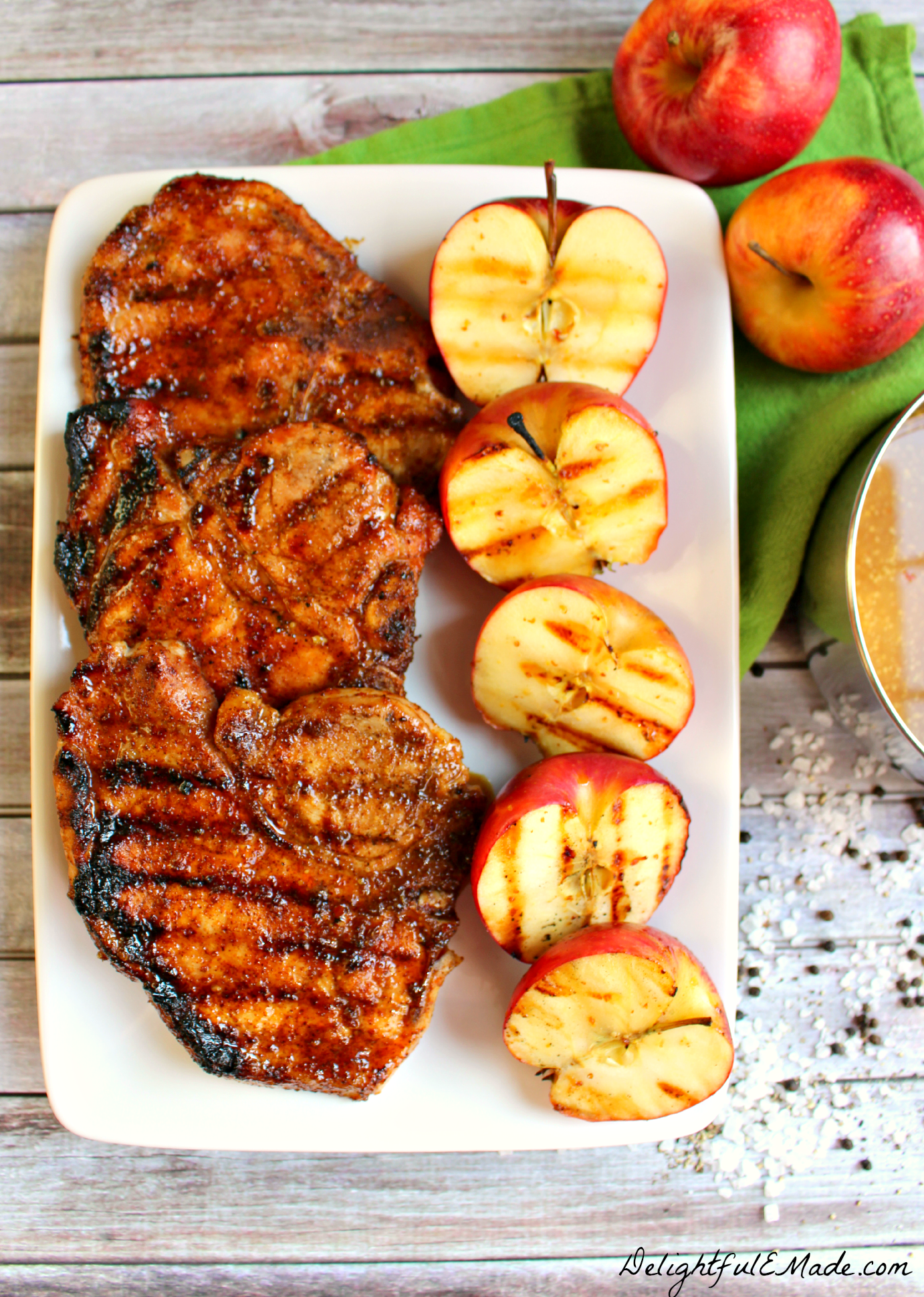 pork chops with sweet and spiced pork chops with sweet sweet and sour ...