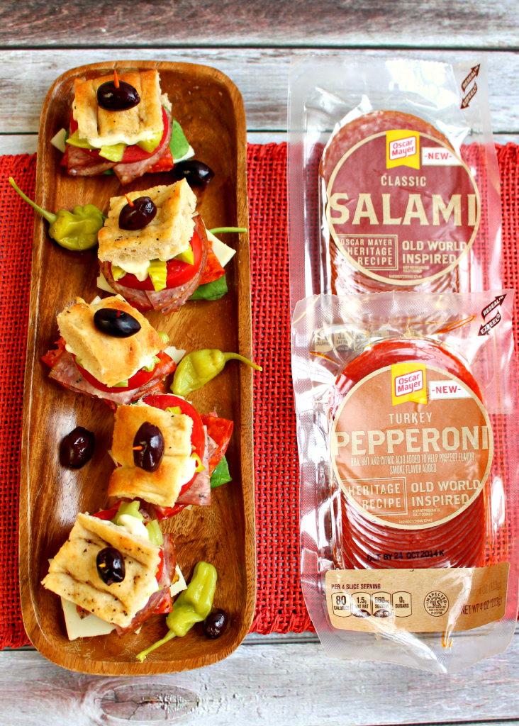 Italian Salami Sliders by DelightfulEMade.com