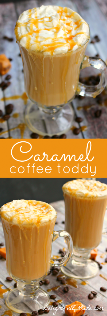 If you love a hot toddy at the end of the day, then you NEED to try this!  Coffee, Bailey's Caramel creme and a few other goodies make this coffee AMAZING!