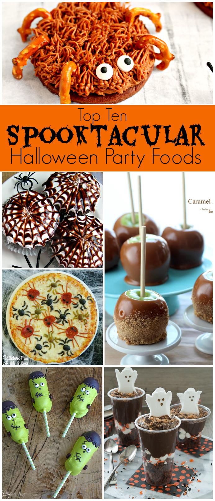 Top Ten Spooktacular Halloween Party Foods Delightful E Made