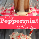 Easy Peppermint Mocha