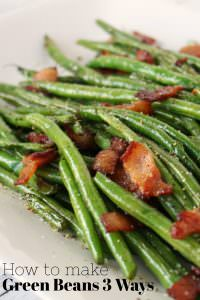 How to Make Green Beans 3 Ways at Genius Kitchen