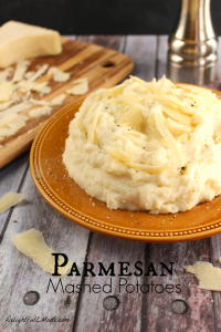 Russet potatoes are lightly seasoned and combined with sour cream, cream cheese and Parmesan cheese making these potatoes the ultimate side dish for any meal!