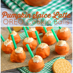 Pumpkin Spice Latte OREO Cookie Balls