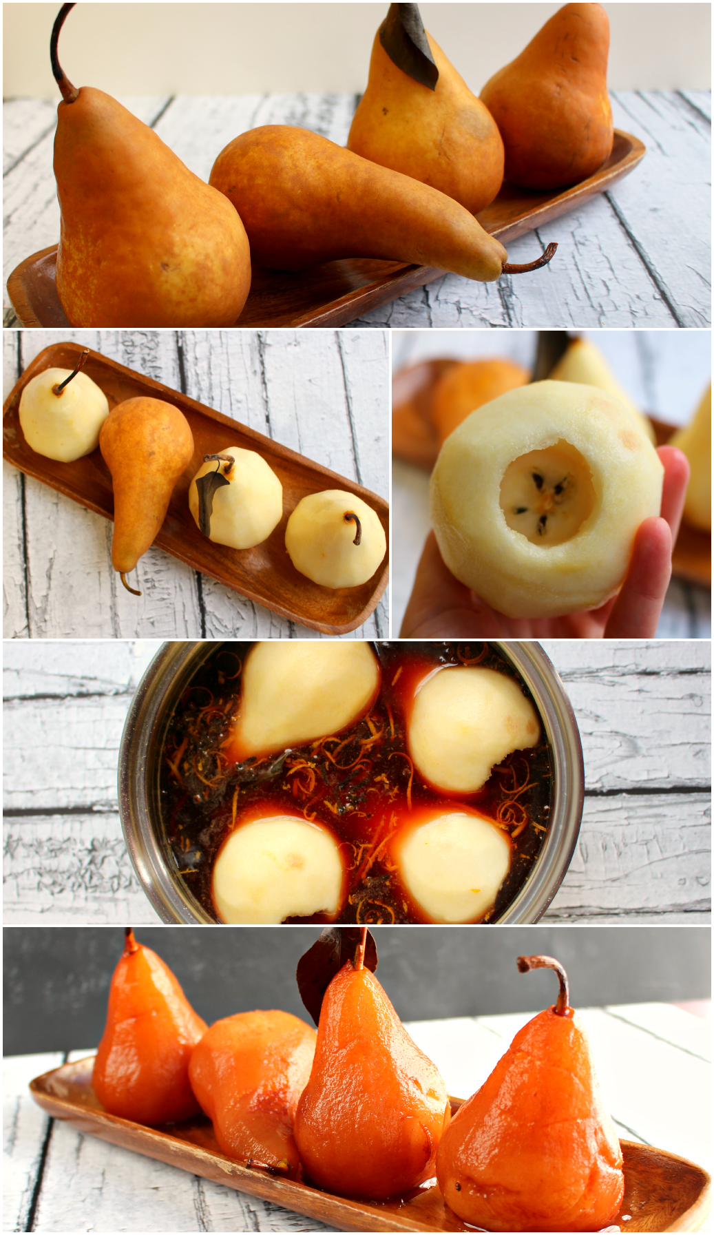 These pears are incredible easy to make, and will be a show-stopper at your next party or holiday gathering as a gorgeous appetizer. The perfect pairing with cocktails or wine!