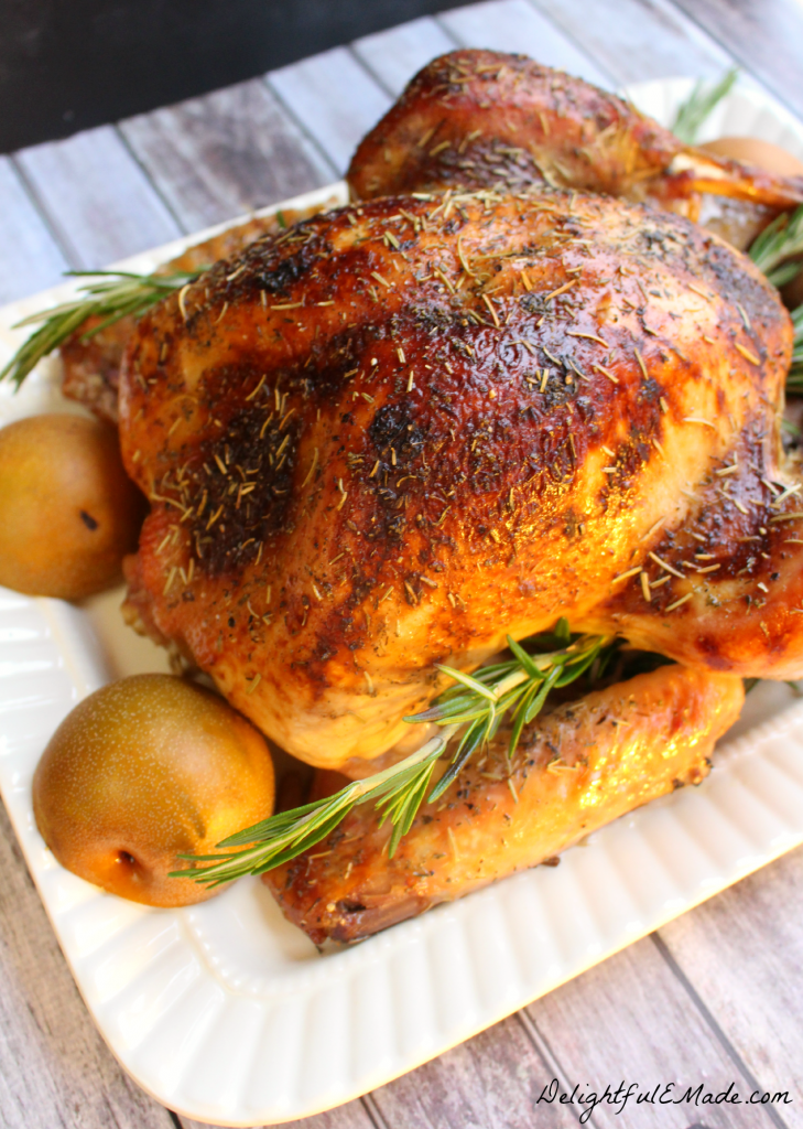 Tired of dry, bland turkey? I'll show you three easy steps to a moist, flavorful and completely delicious turkey!