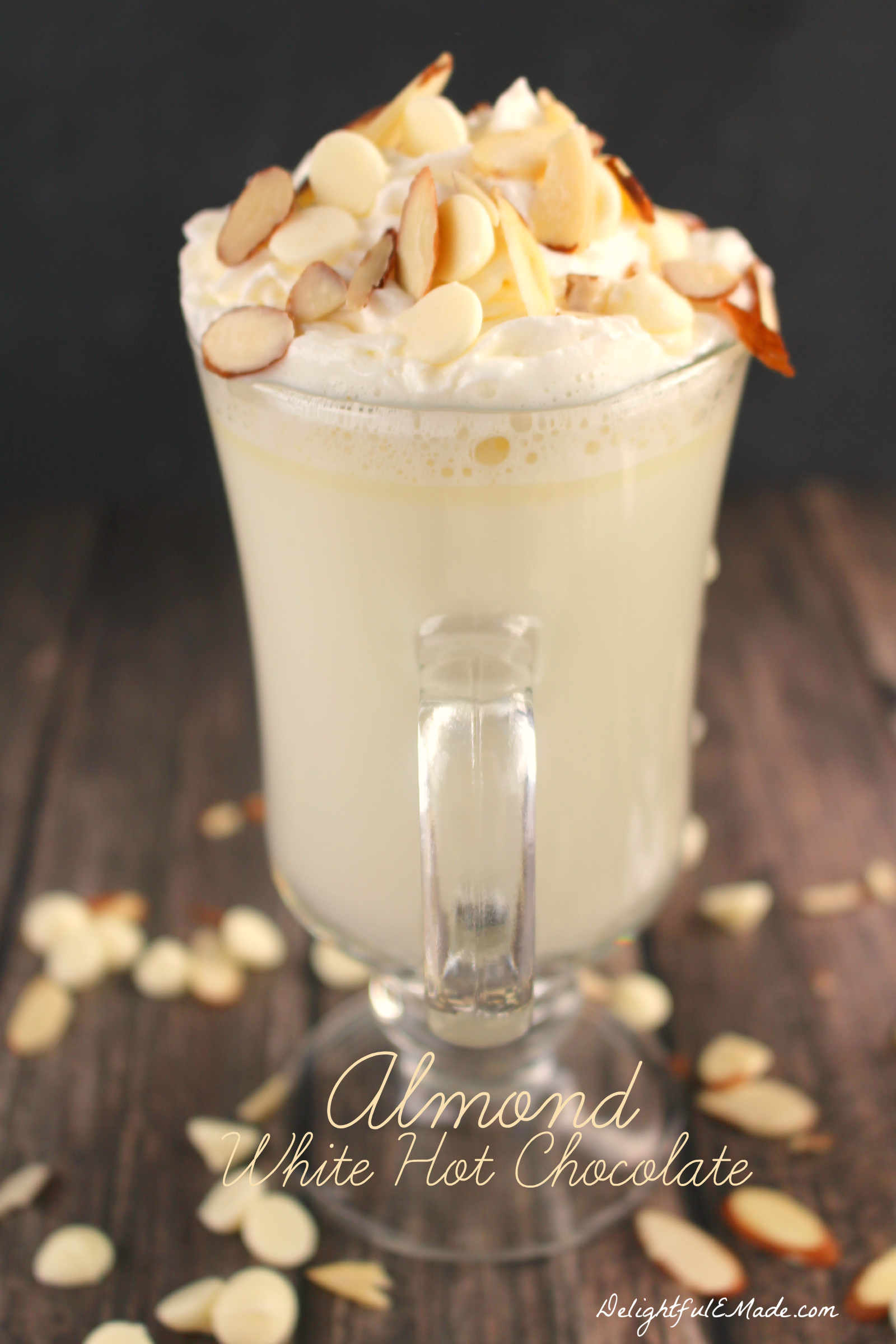 Almond White Hot Chocolate - MOMMY ON DEMAND