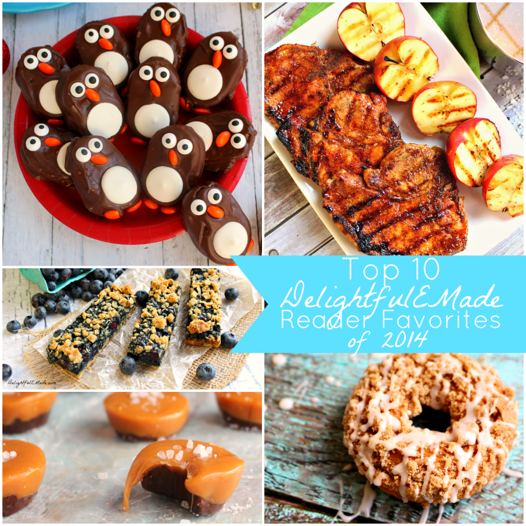 The most popular posts on Delightful E Made! All of the best recipes of 2014 in one post!