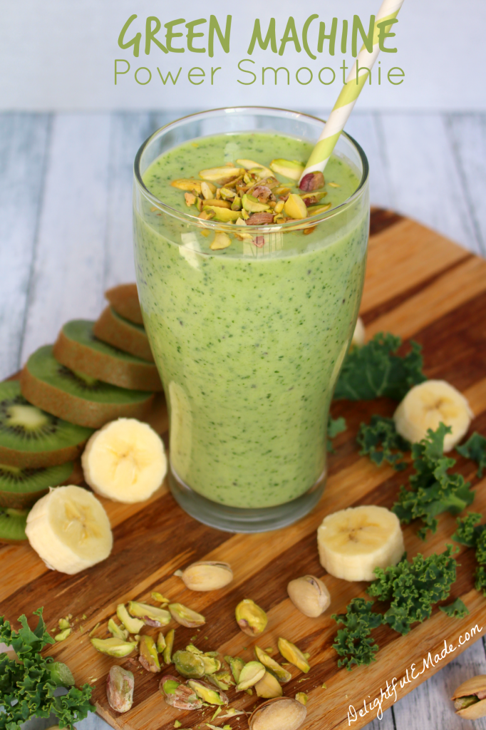 Super healthy, easy to make and completely delicious!  This green smoothie is loaded with good-for-you nutrients that will keep your body running at full speed!