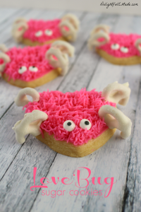 Love Bug Sugar Cookies by Delightful E Made