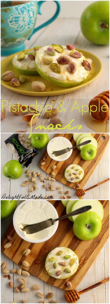 Do you need some easy, healthy and satisfying snack options? My Pistachio and Apple Snacks are the perfect solution to your snack cravings!