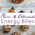 Plum & Almond Energy Bites