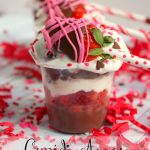 Cupid's Arrow Pudding Cups