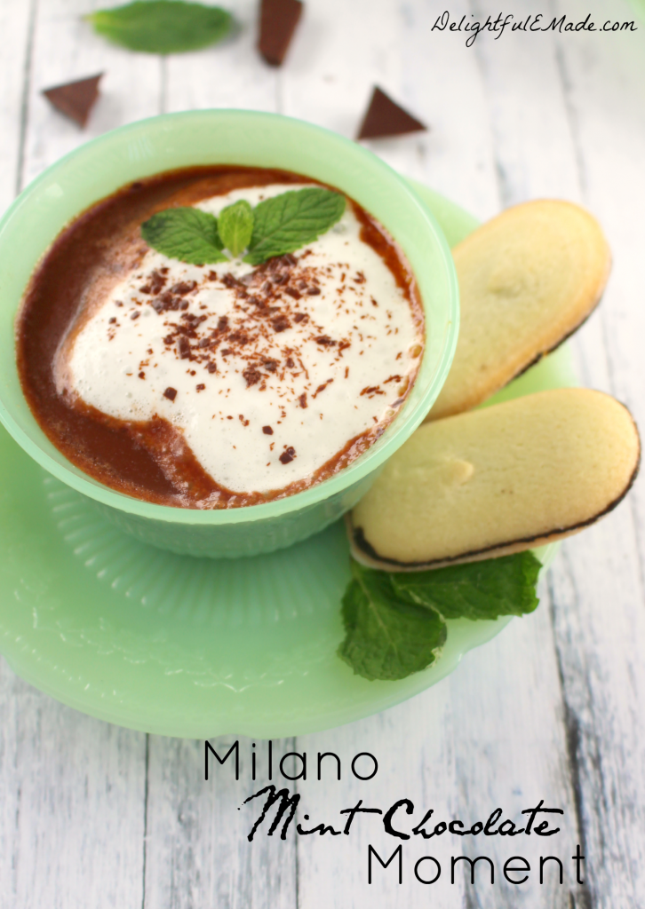 If you love chocolate and mint, create a Milano Mint Chocolate Moment for yourself, and rediscover what it means to take time for you!