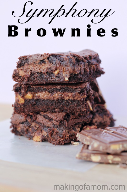 Symphony Brownies by Making of A Mom