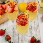 Strawberry Lemoncello Spritzers