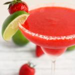 Strawberry Lime Margaritas
