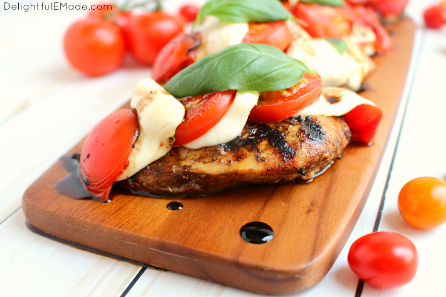 Balsamic, Garlic, And Basil Marinated Chicken Breasts Recipes ...