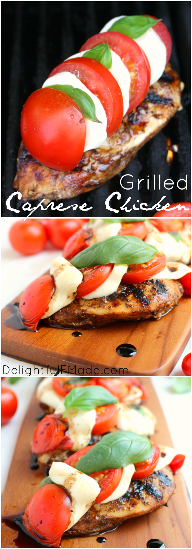... balsamic vinaigrette marinated chicken breast, and grilled to