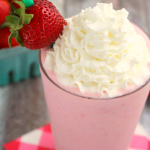 Skinny Starbucks Strawberries and Cream Frappuccino