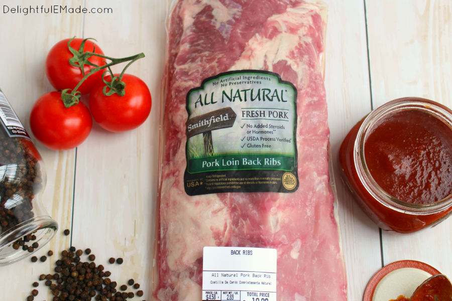 Fire up your grill, its time for ribs! These juicy, tender Sweet and Spicy Chipotle BBQ Ribs are smothered with an amazing Chipotle BBQ sauce and grilled to perfection. The ultimate in summer cookout food!