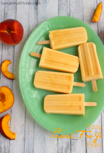 Healthy, easy and completely delicious! These frozen yogurt pops are a fantastic summer snack that everyone in the family will love! Perfect for cooling off on a hot day!