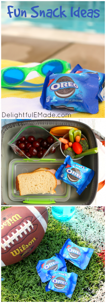 With the kids home for the summer and all the activities that come with it, does it have you on the lookout for a quick, easy summer snacks?  Have no fear - OREO's to the rescue!