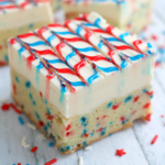 Stars and Stripes Sugar Cookie Bars